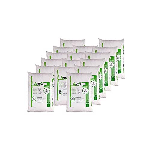 Pack de 250 Kg (10 Sacos de 25 kg.) ENISAL Sal Especial Piscinas – Cumple con la Norma Europea (Sal Calidad para Piscinas de electrólisis Salina)…