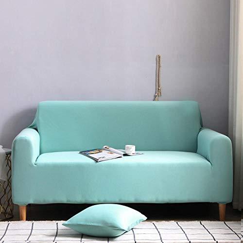 CC.Stars Sofá Proteger Cubre sofá 1 2 3 Plazas,Funda para sofá elástica, Funda para Silla con Taburete, Funda para Mueble, Funda para sofá-Sky Blue_190-230cm