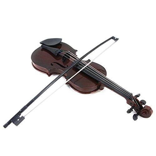ZUJI Geige Kinder Geige Spielzeug Violine Musikinstrument Geschenk für Junge und Mädchen ab 3 Jahre