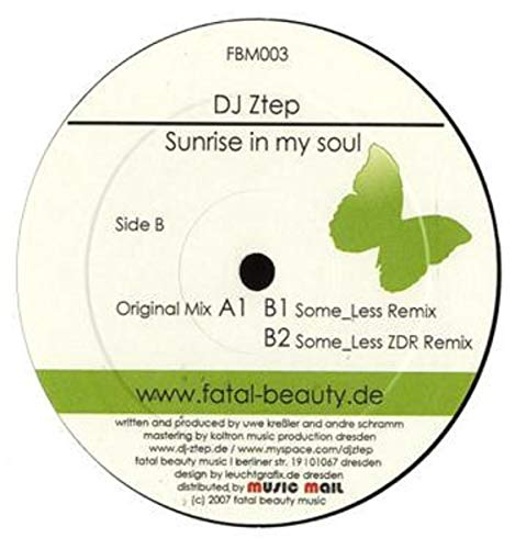 DJ Ztep - Sunrise In My Soul - Fatal Beauty Music - FBM003