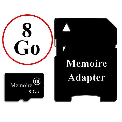 Unbekannt Speicherkarte, Format Micro-SD, mit Kartenleser, Adapter, Klasse 10, für Google Pixel 3a XL, optimale Lesegeschwindigkeit