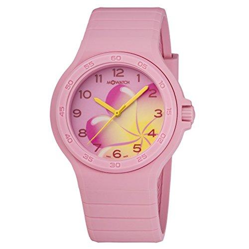 M-WATCH Unisex-Armbanduhr Maxi Colour Analog Quarz WYO.15130.RC