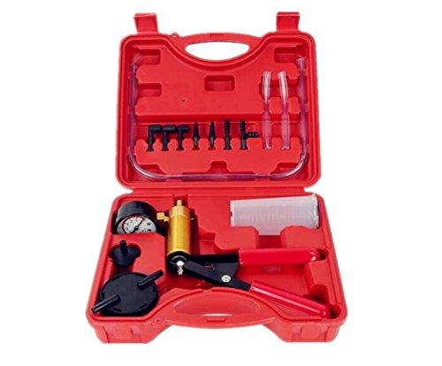 Auto Auto Hand Vakuum Pistole Bremsentlüftungs Adapter Fluid Reservoir Tester Kit 2 in 1 Werkzeug Kits