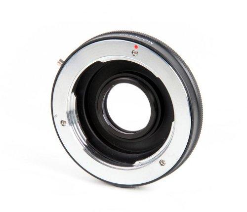 Khalia-Foto Minolta SR-Objectifs - Adaptador de objetivos Nikon (con lente de corrección)