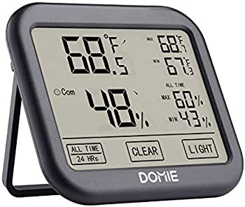 Domie Digital Temperature and Humidity Monitor