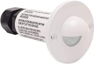 MiniDisc Scoop LED Step Light White Finish Cool White LED's