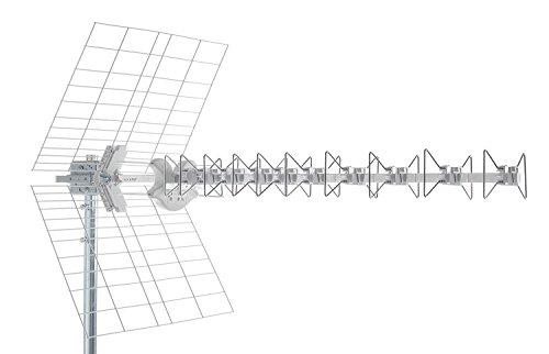 Antenna Fracarro LTE per ricezione segnale TV Digitale Terrestre (217910 Blu5HD)