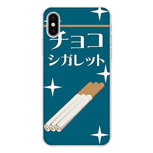 Rakuten mini クリア ケース 薄型 スマホケース スマホカバー sc415(E) チョコ シガレット タバコ型駄菓子 スマートフォン スマートホン 携帯 ケース ハード プラ ポリカボネイト スマフォ カバー