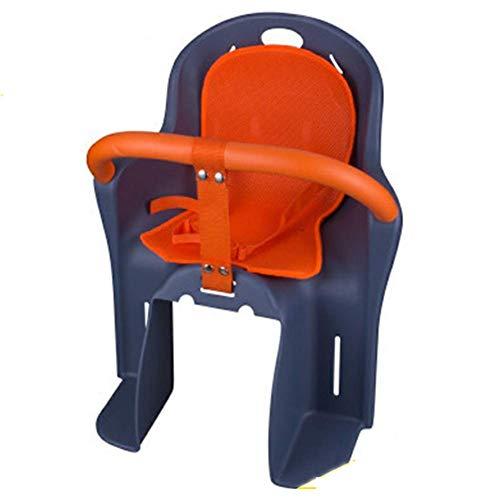 GPWDSN Snug drager montage kinderzitje kinderzitje kinderfietsstoeltje achter met veiligheidsgordel dikke opberging geschikt voor kinderen van 8 maanden tot 6 jaar oud