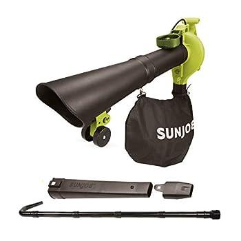 Sun Joe SBJ606E-GA-SJG 14-Amp 250MPH 4-in-1 Electric Blower/Vacuum/Mulcher/Gutter Cleaner Green