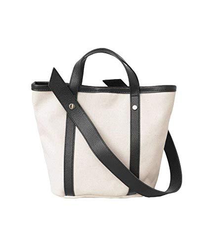 [アーバンリサーチ] 鞄 トートバッグ 2WAYキャンバスショルダーバッグ レディース UR94-2AW009 BLACK -