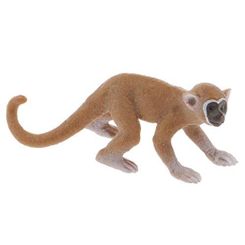Vektenxi Realistische Totenkopfäffchen Wildtier Figur Modell Action Figure Kinder Spielzeug kreativ und nützlich