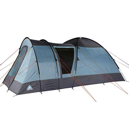 10T Outdoor Equipment Helsinki 5 Tente, Bleu, 440 x 320 x 200 cm
