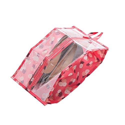 Almacenamiento Bolsa de viaje portátil for zapatos Bolsa de almacenamiento Bolsa de clasificación de ropa Bolsa de residuos de viaje Bolsa de almacenamiento impermeable hermoso ( Color : A )