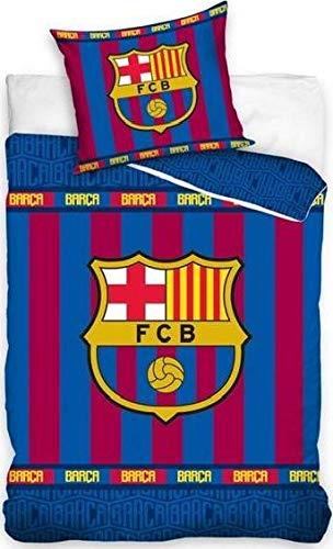 kidparadise FC Barcelone x 2 Parures de lit 100% Coton - Hou