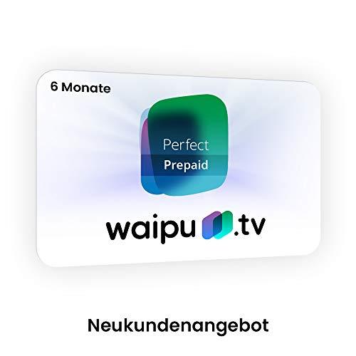 waipu.tv Prepaid | 6 Monate Perfect Plus | TV-App für Fire TV und Smartphone