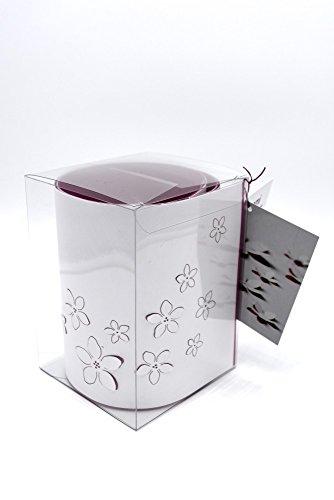 meindekoartikel Pop-up Tischläufer Hanami 3D-Effekt Blüten Blumen Papier Mitteldecke - Grün (Blau)