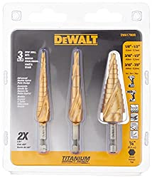 Budget-Friendly Step Drill Bits