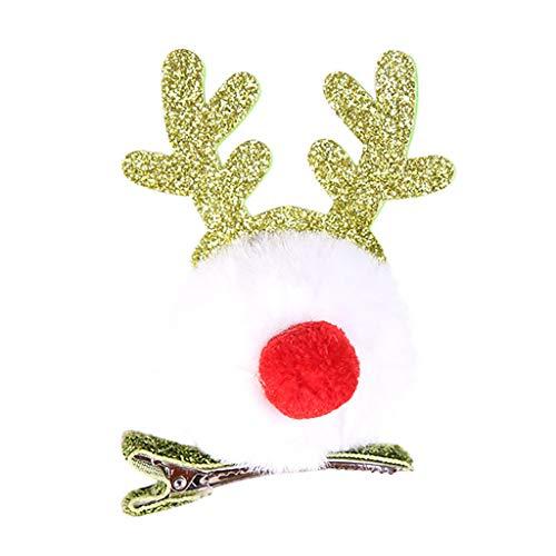 Twocc-Navidad, Fiesta de Navidad Horquilla Santa Claus Muñeco de Nieve Adulto Niño Regalo Regalo Decoración de...