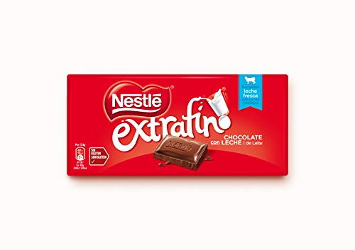 Nestlé Extrafino Chocolate Con Leche - Tableta de Chocolate - 28x125g