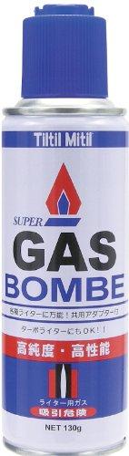 東京パイプ ガスボンベ チルチルミチル ライター用 130g 高純度 高性能液化ガス