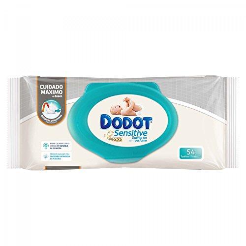 Scatola asciugamani Dodot Sensitive (15 confezioni - 810 unità)