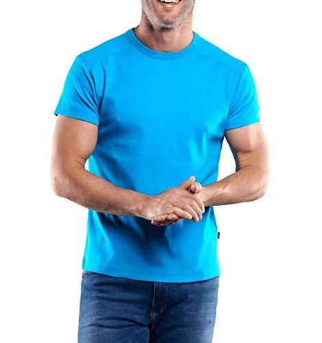 engbers Herren T-Shirt My Favorite, 29476, Türkis in Größe 5XL