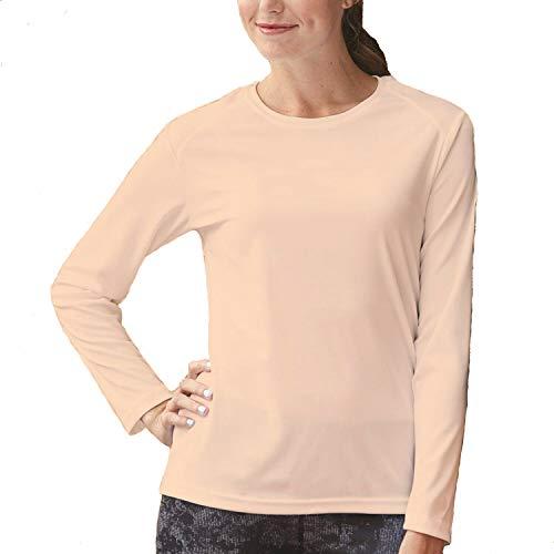 Papaval - Camiseta de manga larga para niños y niñas Beige color carne 11-12 Años