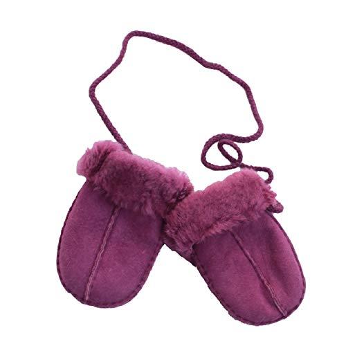 Eastern Counties Leather - Moufles en peau de mouton - Bébé (Taille unique) (Violet)