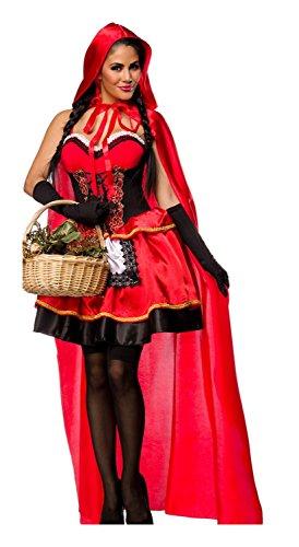 Luxury & Good Dessous Sexy roodkapje kostuum