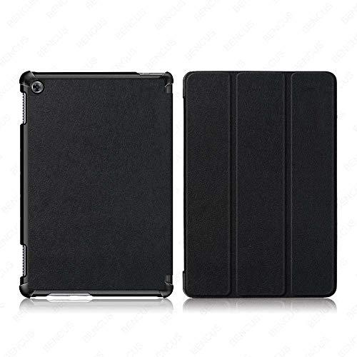 YYLKKB Funda para Huawei Mediapad M5 Lite 8 10 Funda para Tableta para Huawei Mediapad M5 Lite Funda-KST-Negro_M5 Lite 8 Pulgadas