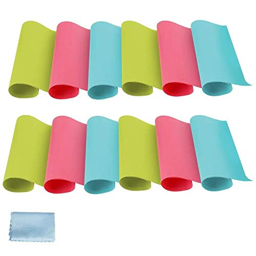 Alfombrilla antideslizante para cajones de cocina, para frigorífico, armario, alfombrilla para zapatos, manteles (3 colores, 45 x 29 cm)