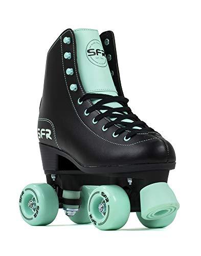 SFR Skates SFR Figure Skates Unisex Kinder Juventud, Black/Mint, 37