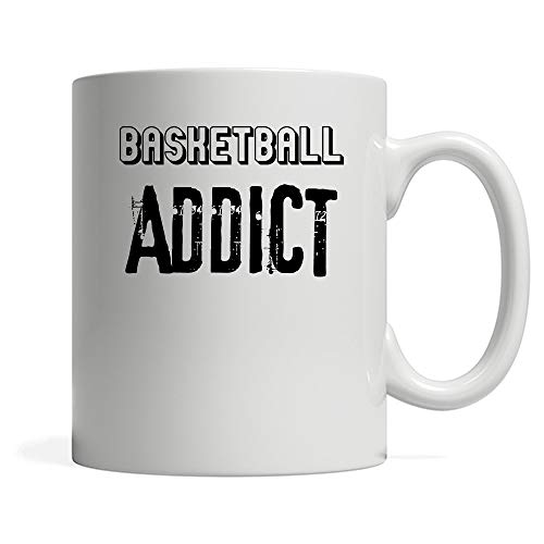 N\A Taza de café adicta al Baloncesto. Regalo de dueño de Baloncesto