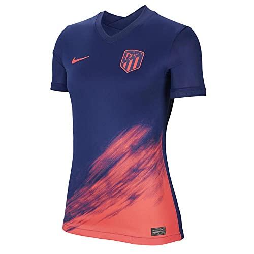 Nike - Atlético de Madrid Temporada 2021/22 Camiseta Segunda Equipación Equipación de Juego, XL, Mujer