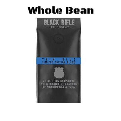 Black Rifle Coffee Company Ground Coffee 2 - 12oz Bags (Thin Blue Line Whole Bean)