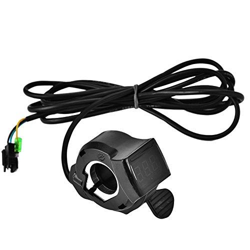 Acelerador de pulgar para bicicleta eléctrica, 12 V - 99 V, acelerador...