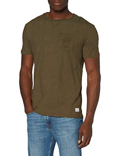 Quiksilver Entre Pin Et Mer - Camiseta para Hombre Camiseta, Hombre, Kalamata, M