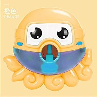 EOFK Funny Bubble Machine Cartoon Frog Octopus Spitting Bubble Kids Bath Toys Bubbles Maker Soap Machines Bathing Toy with Music Must Have Toys Baby Gifts The Favourite Anime Superhero Unboxing Box