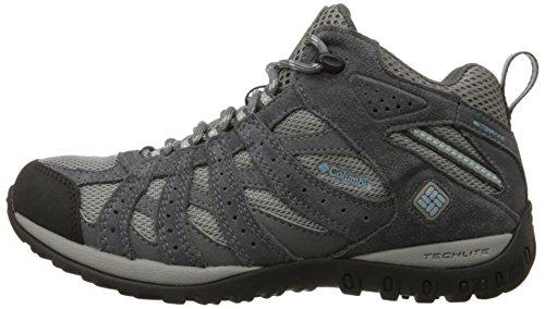 Columbia Redmond Mid Waterproof, Chaussures de randonnée - Femme, Gris (060), 40.5 EU