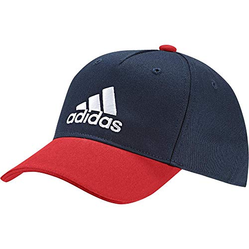 adidas Kinder Graphic Baseball-Cap, Collegiate Navy/Active Red/White, FR Unique (Taille Fabricant : OSFY)