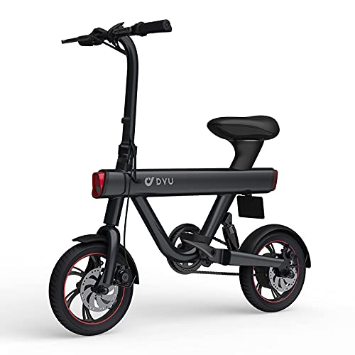 DYU Bicicleta Eléctrica Plegables,12