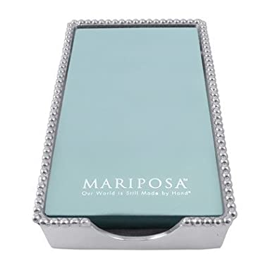 Mariposa Beaded Guest Towel Holder 2242-G