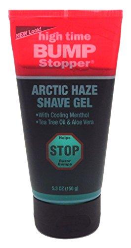 High Time Bump Stopper afeitado Gel W/Aloe y aceite de árbol de té (