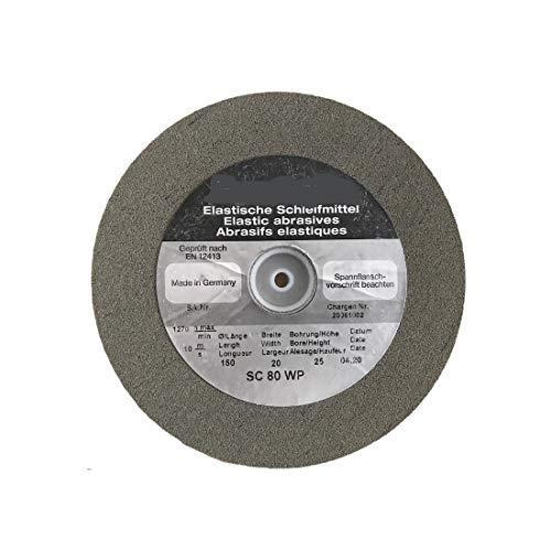 Artifex SC 80 WP - Muela abrasiva elástica de carburo de silicio
