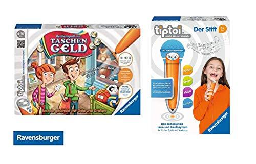 Ravensburger: 00700 - Tiptoi Stift mit Player + 00779 - Tiptoi Rechenspaß mit Taschengeld