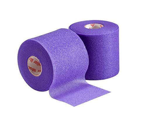 Mueller MWrap LatexFree Prewrap 275quot X 214 Yd Roll Purple 2 Pack