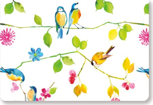 Watercolor Birds Note Cards (Sta...