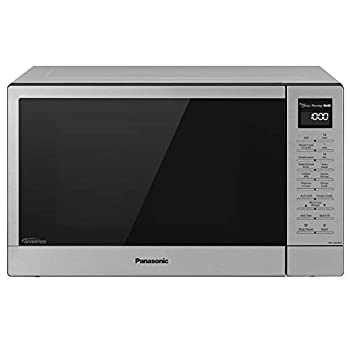 Panasonic NN-GN68KS Countertop Microwave Oven 2-in-1 FlashXpress Broiler Inverter Technology for Even Cooking and Smart Genius Sensor 1000W 1.2 cu.ft Microwave-NN-GN68KS  Stainless Steel/Silver