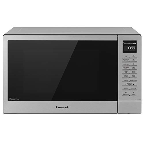 Panasonic NN-GN68K Countertop Oven Microwave + Broiler Grill, Stainless Steel/Silver